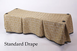 Church Truck Drape Middleton Gold