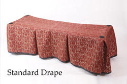 Church Truck Drape Middleton Red