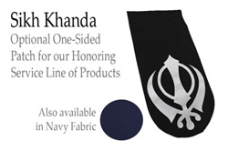 x Patch for VersoTable: Sikh Khanda