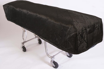 Cot Cover Carlisle Black