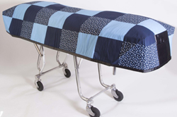 Cot Cover Hometown Blue