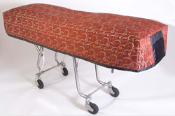 Cot Cover Middleton Red