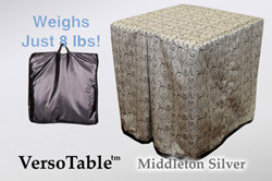 VersoTable Middleton Silver